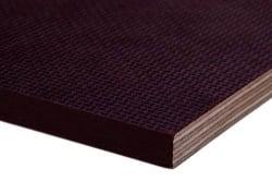 Фанера ламинированная (гладкая/сетка) ФСФ 40 мм 2440х1220 F1/W1