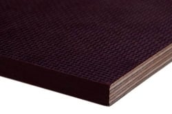Фанера ламинированная (гладкая/сетка) ФСФ 9 мм 2440х1220 F1/W1